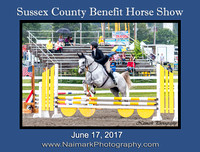 SUSSEX COUNTY BENEFIT HORSE SHOW - June 17, 2017
