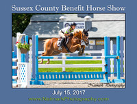SUSSEX COUNTY BENEFIT HORSE SHOW - July 15, 2017