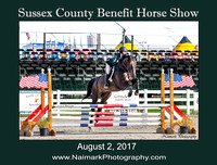 SUSSEX COUNTY BENEFIT HORSE SHOW - August 2, 2017
