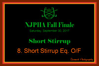 09/30/17 08. SHORT STIRRUP EQ. O/F