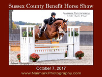 SUSSEX COUNTY BENEFIT HORSE SHOW - October 7, 2017
