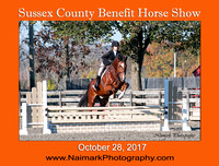 SUSSEX COUNTY BENEFIT HORSE SHOW - October 28, 2017